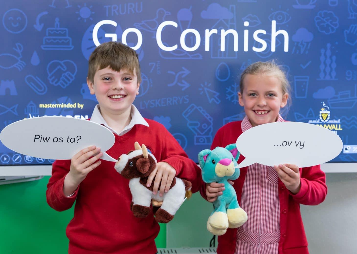 Schools across Cornwall are set to Go Cornish!